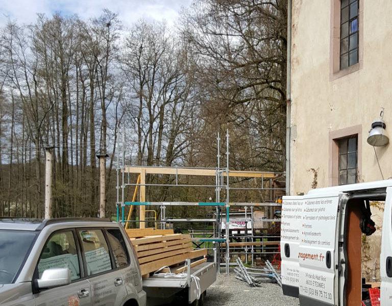 Préparation et phase de démarrage chantier