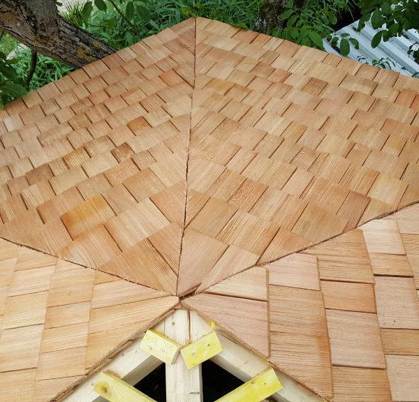 Toiture héxagonale
